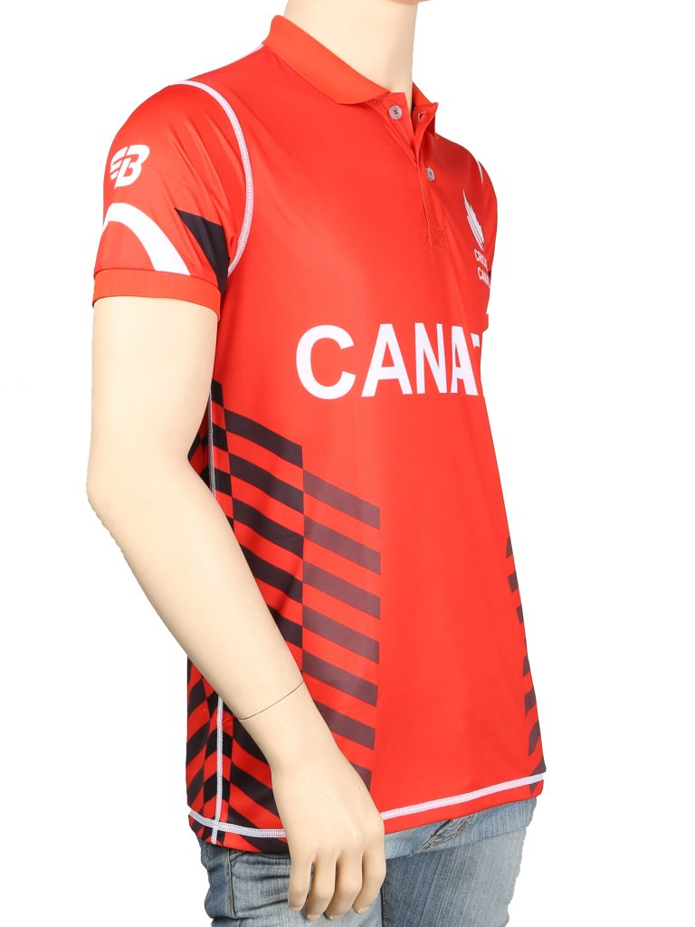 Cricket Canada Playing Jersey