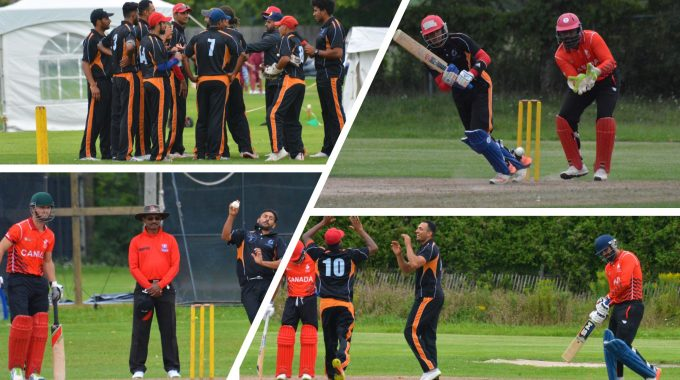 Cricket Canada's Development Team Is On A Roll.