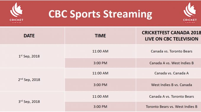 Catch All The Action On CBC