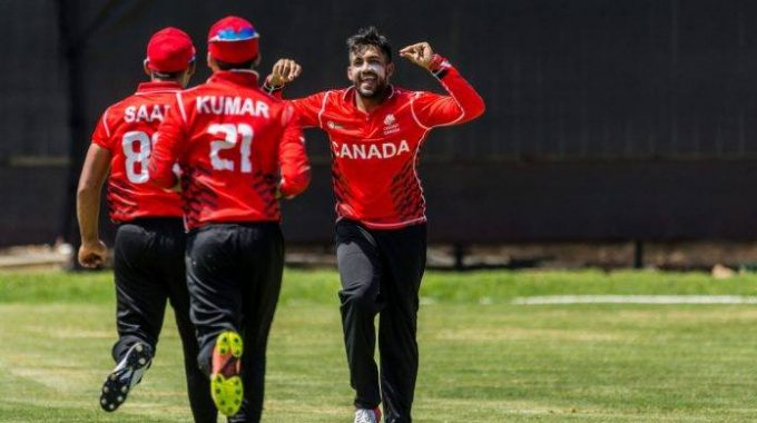 "Canada To Compete In ICC World T20 Americas Group ""A"" Qualifiers"