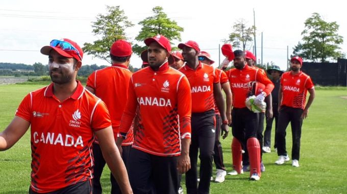 Cricket Canada Senior Team Goes Down Fighting Against Windies-B!