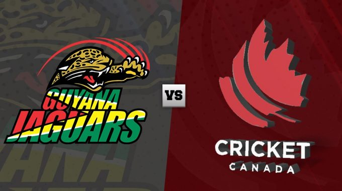 Despite Nitish's 50, Canada Loses Against Guyana.