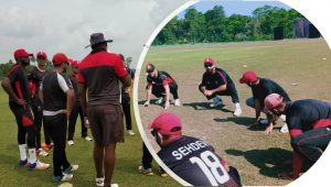 Another Victory By Cricket Canada ,win By 3 Wickets In The Fourth Practice Match
