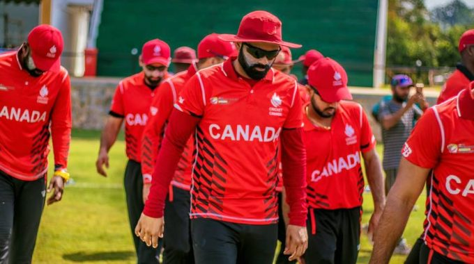 Cricket Canada Announces The Senior National Squad For The ICC WCL Division 2, Namibia.